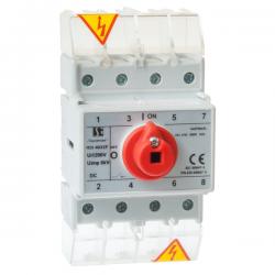 Rozłącznik dla fotowoltaiki RSI-F 4-torowy