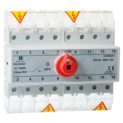 Rozłącznik dla fotowoltaiki RSI-F 8-torowy