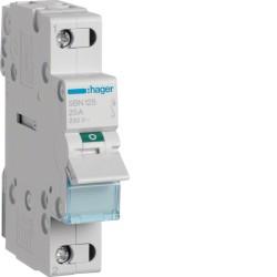 Modułowy rozłącznik izolacyjny 1P 25A 230V