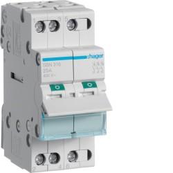 SBN316, Modułowy rozłącznik izolacyjny, 3P 16A,