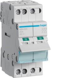 SBN325, Modułowy rozłącznik izolacyjny, 3P 25A,