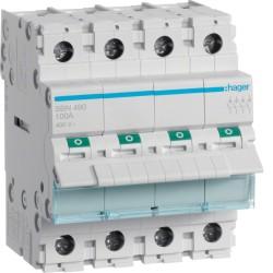 Modułowy rozłącznik izolacyjny 4P 100A 400V