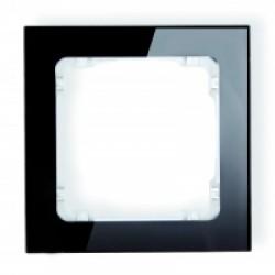 Ramka uniwersalna 1-krotna - efekt szkła