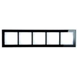 Ramka uniwersalna 5-krotna - efekt szkła