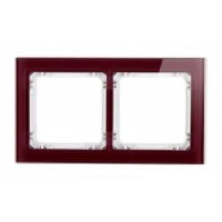 Ramka uniwersalna 2-krotna - efekt szkła