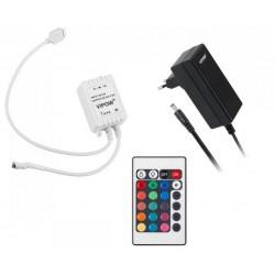 Zestaw oświetleniowy (sznur diodowy 150x5050SMD + zasilacz + kontroler <br />Kolorów,