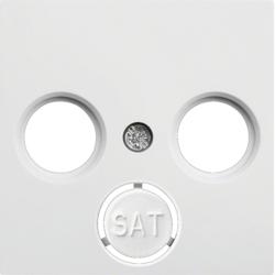 lumina 2 Płytka czołowa RTV-SAT, biały