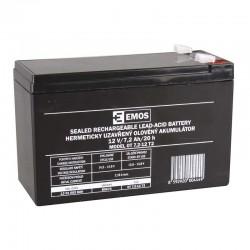 Akumulator AGM 12V 7,2Ah F6,3