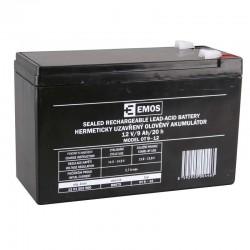 Akumulator AGM 12V 9Ah F6,3