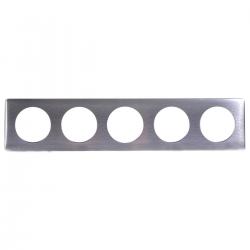Ramka pięciokrotna CELIANE linia ANODISED aluminium