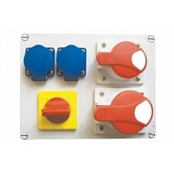 Rozdzielnica R-BOX 2x32A 4B 2x230V LOP,