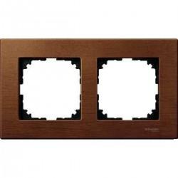Ramka 2-krotna - drewno