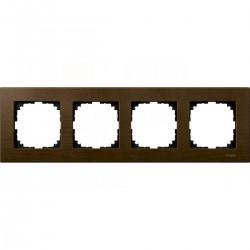 Ramka 4-krotna - drewno