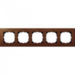 Ramka 5-krotna - drewno