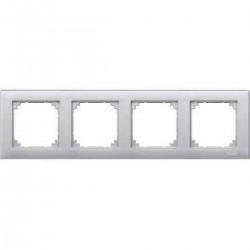 Ramka poczwórna M-PLAN Aluminiowy