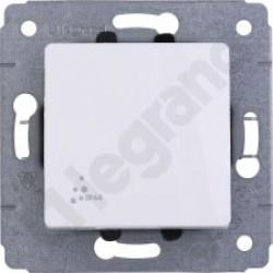 Cariva biały łącznik jednobiegunowy IP44