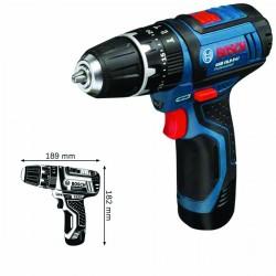 Akumulatorowa wiertarko-wkrętarka udarowa GSB 10,8-2-LI Professional,