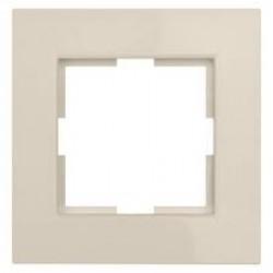 lumina 2 Ramka 1-krotna, kremowy