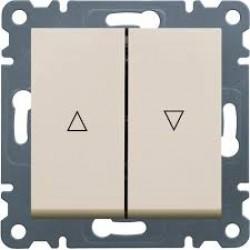 lumina 2 Łącznik żaluzjowy monostabilny (zwierny), kremowy
