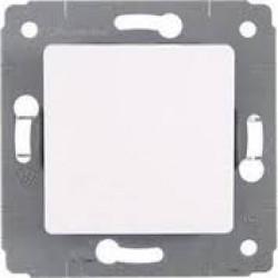 Cariva biały przycisk pojedynczy