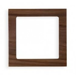 Ramka uniwersalna 1-krotna - drewno (orzech amerykański)