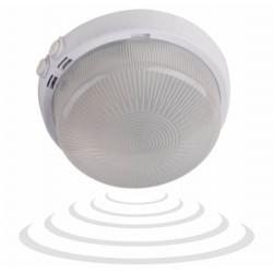 Oprawa oświetleniowa z mikrofalowym czujnikiem ruchu, 100W E27,