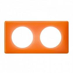 Ramka podwójna CELIANE MEMORIES pomarańczowy