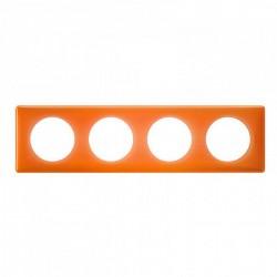 Ramka poczwórna CELIANE MEMORIES pomarańczowy