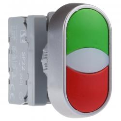 Przycisk kompletny z guzikiem dwuklawiszowym podświetlany 2KL