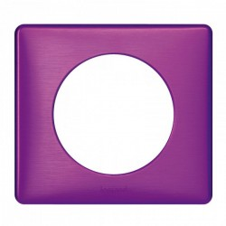 Ramka pojedyncza CELIANE ANODISED purpura
