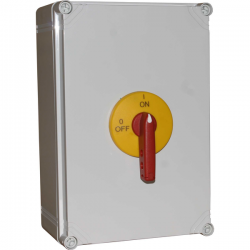 Rozłącznik izolacyjny RSI 63 w obudowie OBA/OBPa