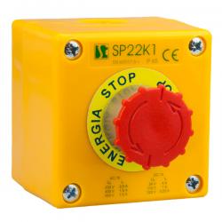 Kaseta sterownicza K1 z przyciskiem STOP SP22K1\08