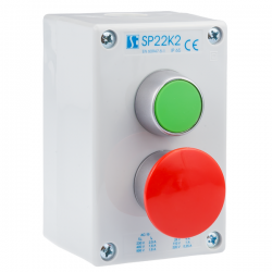 Kaseta sterownicza K2 z przyciskami START-STOP SP22K2\03