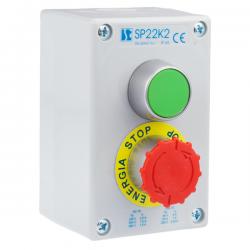 Kaseta sterownicza K2 z przyciskami START-STOP SP22K2\04