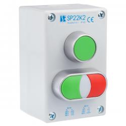 Kaseta sterownicza K2 z przyciskami START-STOP SP22K2\21, 24