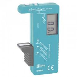 Uniwersalny tester baterii z wyświetlaczem