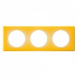 Ramka potrójna CELIANE MEMORIES żółty